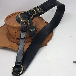 Lauren Ralph Lauren NEW sz L leather belt